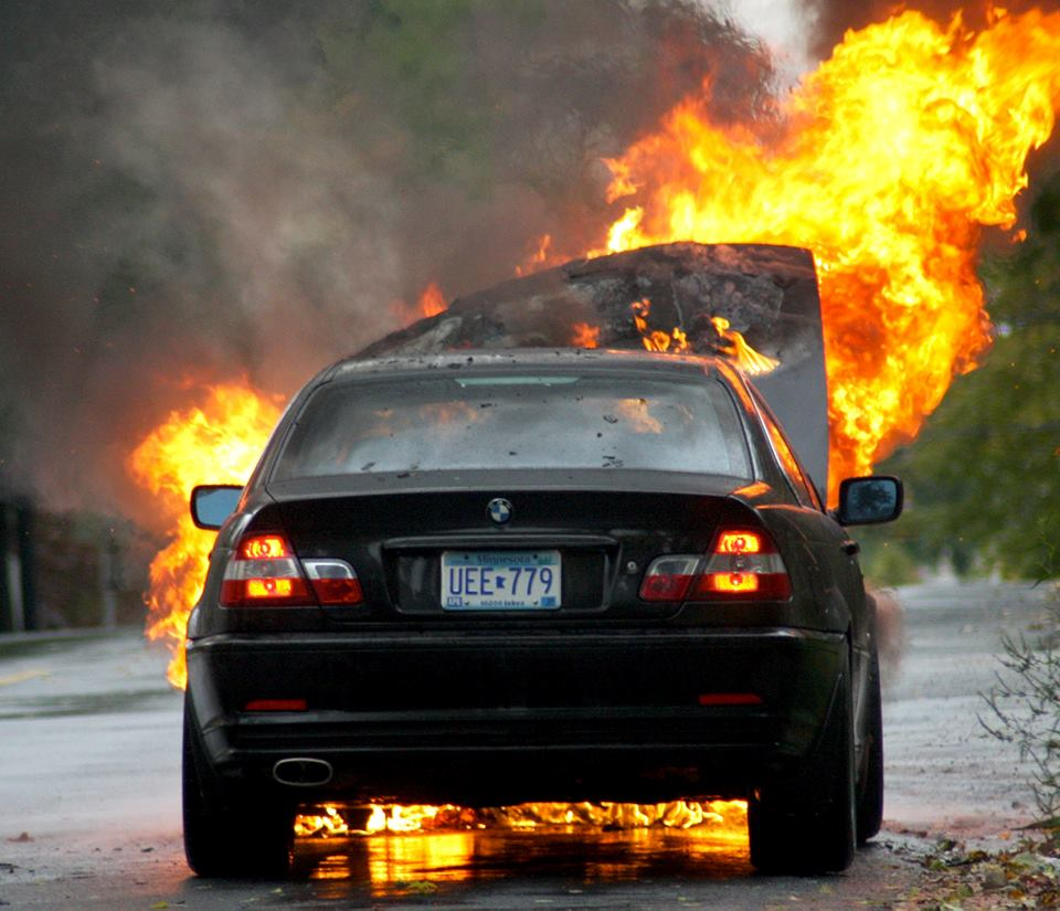 Firenxt Incendio Automobile