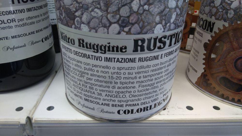 Rusticon Effetto Ruggine