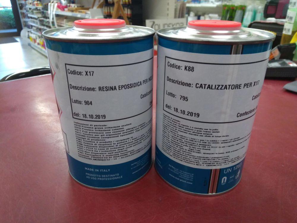 Resina Epossidica X17 + Catalizzatore K88