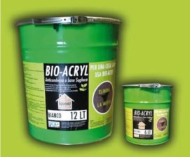 BIO-ACRYL Pittura Anticondensa al sughero