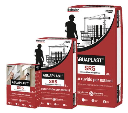 Aguaplast SR5 Stucco ruvido per esterni