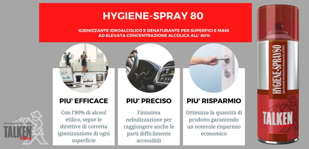 HYGIENE SPRAY 80 X DISPLAY