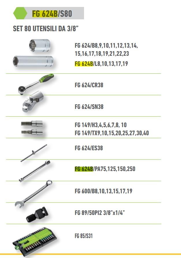 FASANO TOOLS FG 624B_S80