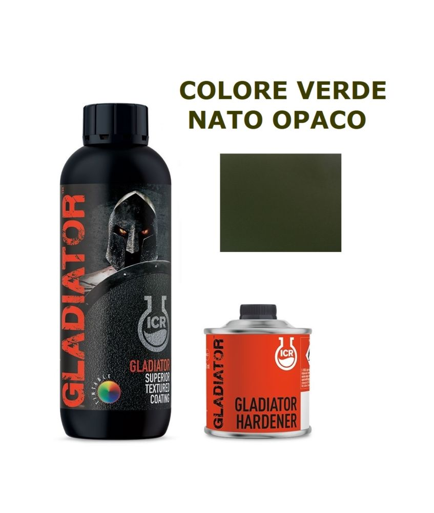 GLADIATOR VERDE NATO OPACO