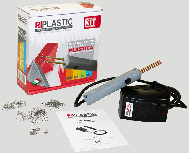 Kit-Salda-Ripara-Plastica-Rigenera-Auto RIPLASTIC 31070