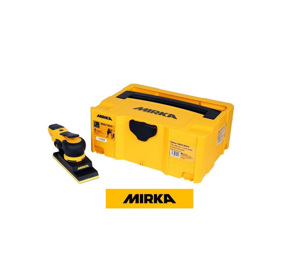 Mirka DEOS 383CV 70x198mm con Aspir. Orbita 3,0 Cassetta