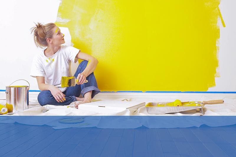 vernici pareti di casa e interni